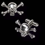 Skull'n' Bones Stargazer Cufflinks